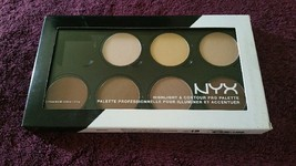 NYX Highlight & Contour Pro Palette - HCPP01 - (Shade Missing / Never Used) - $12.00