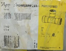 Apollo Powerpress Carbon Steel Gas Press Tee PWR7481683 image 2
