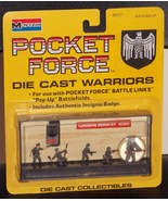 1990 Monogram Pocket Force Die Cast Warriors German Infantry WWII New In... - $14.99