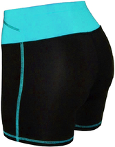 Women's W Sport Two Tone Athletic Work Out Fitness Stretch Gym Shorts AP-4815 image 7