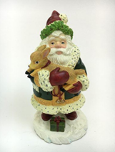 "Lenox ""Woodland Santa"" Christmas Decorative Collectible Figurine - $28.99"