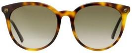 Gucci Women's GG0224SK-30001800 005 56MM Havana Sunglasses 100% Authentic - $148.49