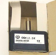 NIB New Oriental Motor  0GK12.5K  Gearhead Made in Japan - $49.99