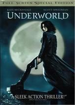 Underworld, Special Edition, Full Screen DVD, (Kate Beckinsale Scott, Sp... - $9.99