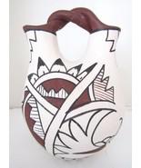 Vintage Native American Wedding Vase~Signed V FRAGUA~Jamez Pueblo NM~VERY RARE - $207.99