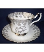 Royal Albert Wedding Anniversary Silver Cup & S... - $21.99