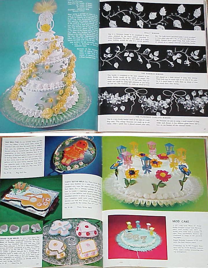 Wilton's Pictorial Encyclopedia of Modern Cake Decorating - 1969 HC