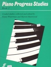 Piano Progress Studies Book 2 Waterman Harewood - $7.95