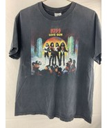 Vintage Kiss Love Gun Released 6-30-77 Tennessee River T-Shirt Size L - $29.69