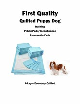 """600  17x24"""" FIRST QUALITY Puppy Dog Wee Wee Training Pee/Incontinence Pads 20gr - $62.95"""