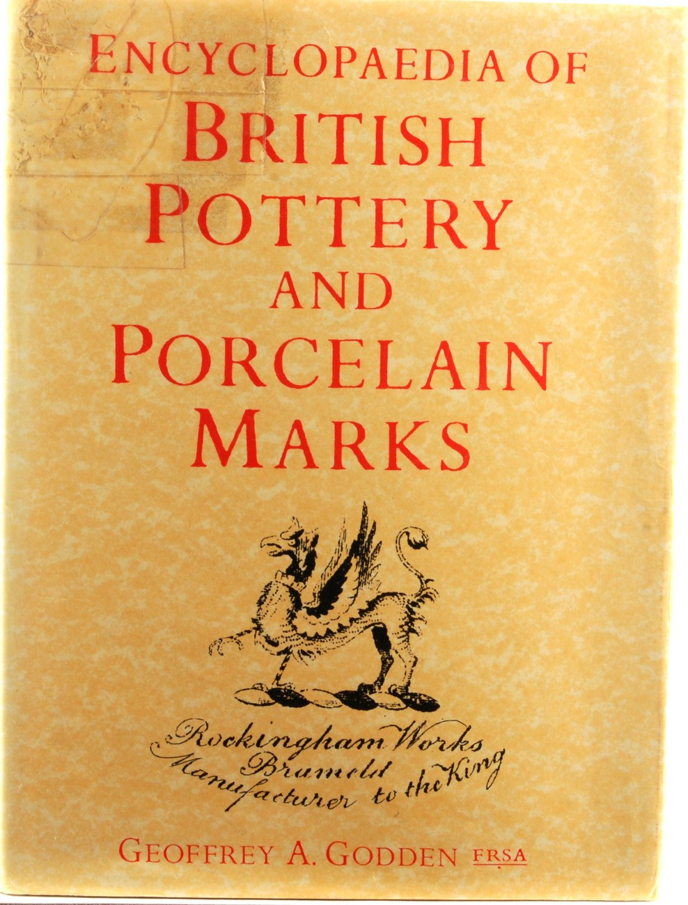 Book enc british pottery marks