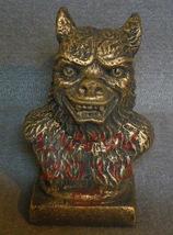 Small Werewolf Halloween Statue Bust new - $5.99