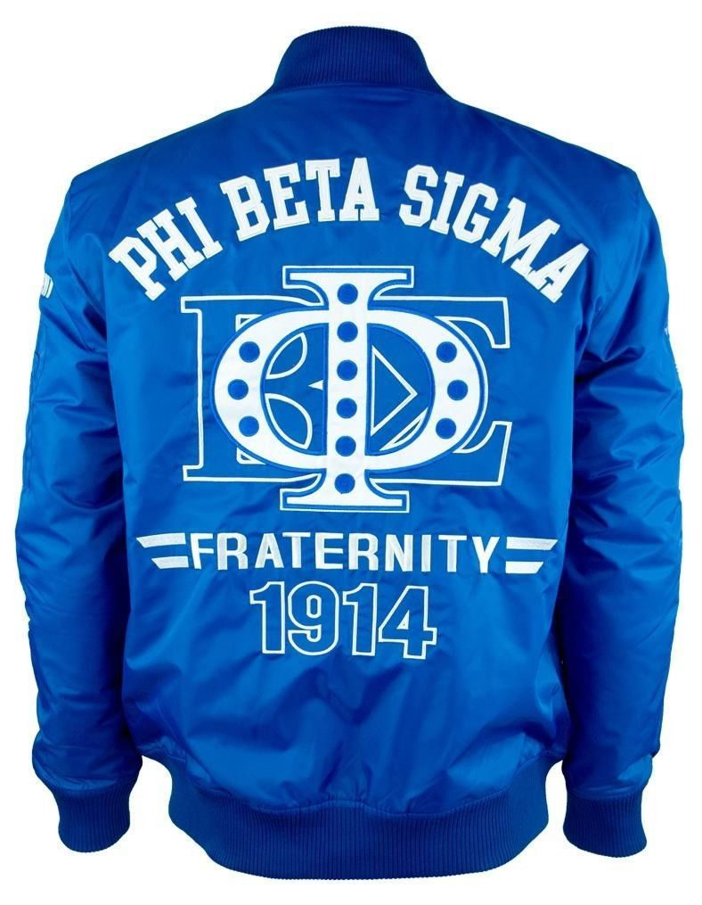 Phi Beta Sigma Men/'s Water Resistant Coat