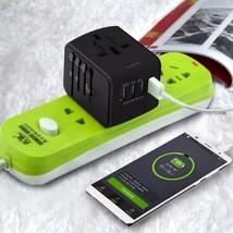 Lerbyee® Travel Adapter International Universal with 4 USB Worldwide Wal... - $29.83