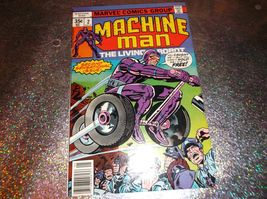 Jack Kirby's MACHINE MAN # 2 * NM/MINT * May 1978 * Hunted by the U.S. A... - $12.00