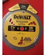 """DEWALT DW3578LX 7-1/4"""" x 24 Tooth Carbide-Tipped Framing Circular Saw Bl... - $15.63"""