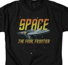 Star Trek Space The Final Frontier USS Enterprise graphic t-shirt CBS1170 image 2