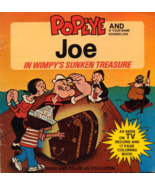 1980 Popeye & Joe in Wimpys Sunken Treasure Personalized Record & Colori... - $9.99