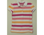 Girls green soda stripe polo shirt large 10 12 thumb155 crop