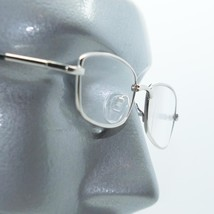 Reading Glasses Low Profile Silver Frame Lightweight Spring Temples +3.0... - $21.00