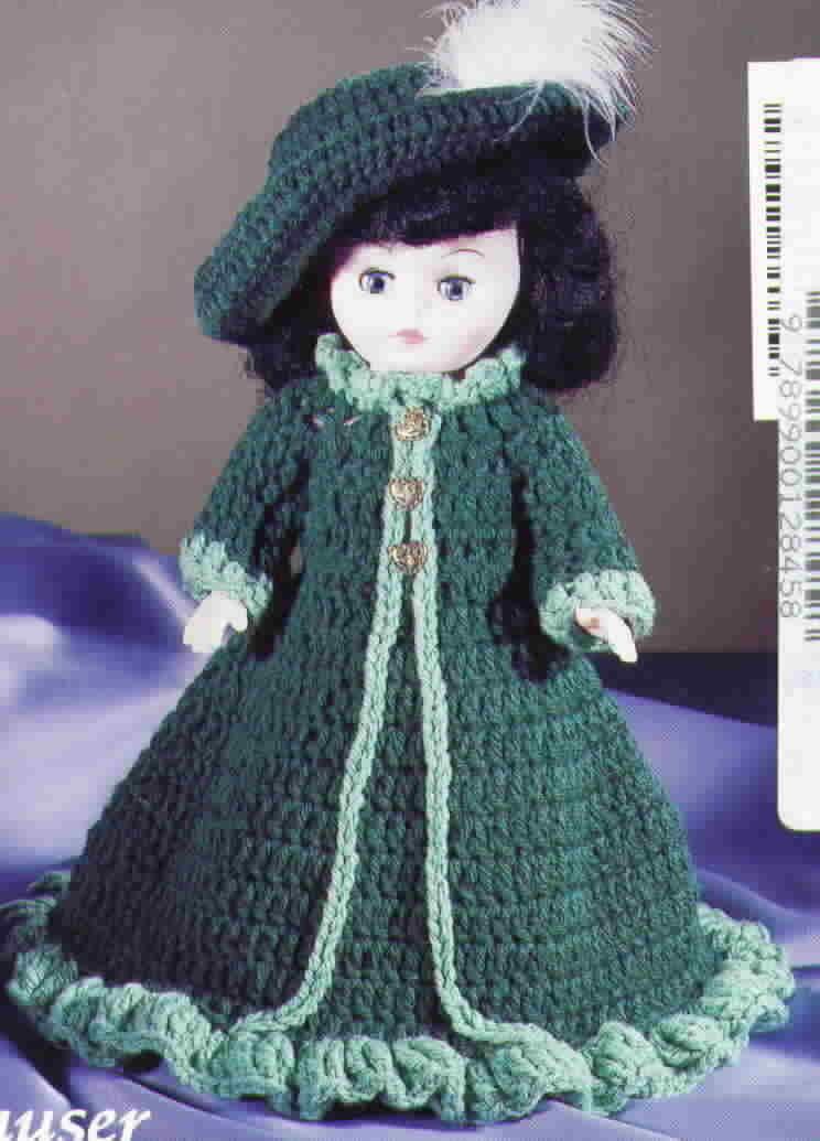 American School of Needlework Crocheted Melody Dolls by Jan Hatfield