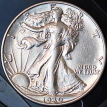 1939 S Walking Liberty Half Dollar - Gem BU / MS / UNC - $157.00