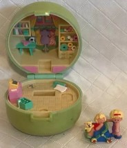 1991 Vintage Polly Pocket Bluebird Dazzling Dressmaker Case Only & Pram ... - $17.81