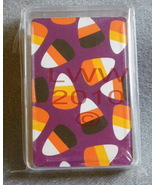 Halloween Candy Corn playing cards in case  - $3.99