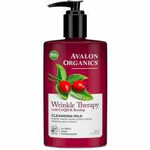 Organics Wrinkle Therapy with CoQ10 Facial Cleansing Milk 251ml Avalon  - $11.03
