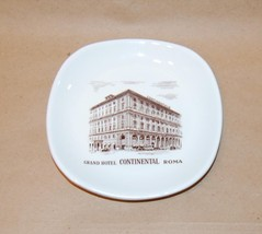 Richard Ginori Grand Hotel Continental Roma Pottery Square Dish - $15.00