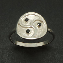 Silver Bdsm Ring - Spiral Celtic Bdsm Jewelry - $52.00