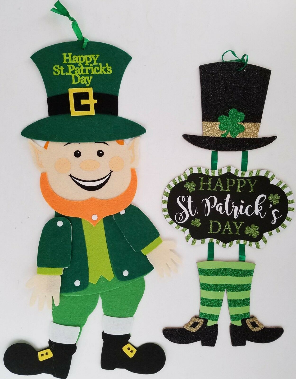 Primary image for St. Patrick's Day Leprechaun Wall Decor,  Select: Type