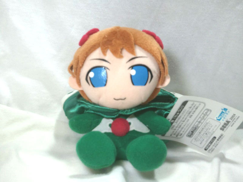 "Neon Genesis Evangelion ""Asuka in Sachiel Costume"" Anime Plush / UFO Catcher"