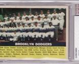 Dodgers 1956 topps  166 team card bvg 4.5 thumb155 crop