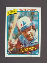1980 Topps # 235 Andre Dawson Montreal Expos Chicago Cubs HOF EXCELLENT - $0.99