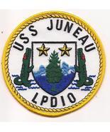 US Navy LPD-10 USS Juneau Patch  - $9.99