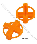 "TAVY Tile and Stone Cross Spacers 1/4"" - 6mm Pack of 500 - $24.95"