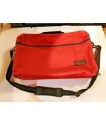 Vintage Red Lebo Voyager Cassette Tape Carrying Case Holds 30 tapes  - $22.72