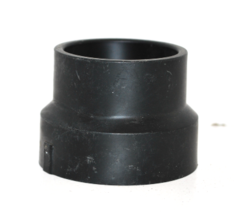 2 X 1-1/2 Black ABS Reducer  HXH NIBCO #5801 - $3.00