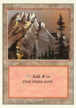 Magic: The Gathering 3rd Edition - Mountain (C) - $0.25