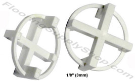 "TAVY Tile and Stone Cross Spacers 1/8"" - 3mm Pack of 100 - $7.95"