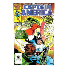 """Captain America #320 Marvel 1986 VF """"The Little Bang Theory"""" - $3.91"""
