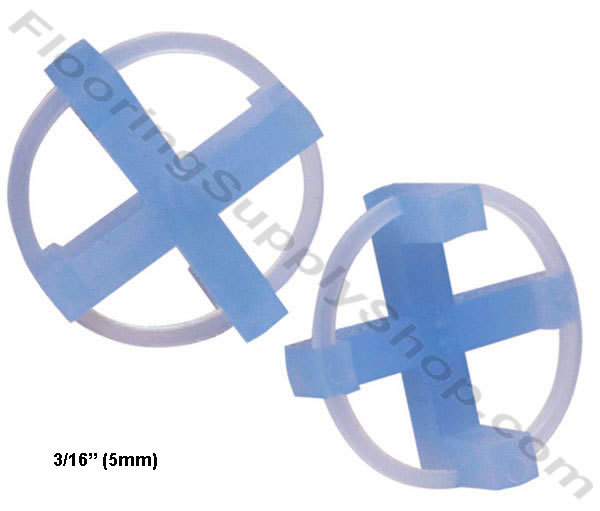 "Primary image for TAVY Tile and Stone Cross Spacers 3/16"" - 5mm Pack of 100"