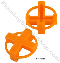 "TAVY Tile and Stone Cross Spacers 1/4"" - 6mm Pack of 100 - $7.95"