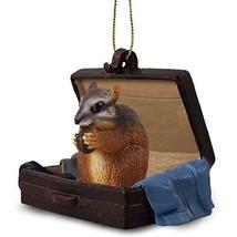 Conversation Concepts Chipmunk Traveling Companion Ornament - $12.99