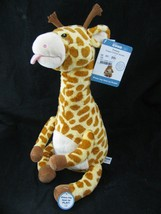 GUND Baby Twisty Talking Giraffe Plush Animated Tongue Twister Battery O... - $39.55