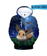 Fairy Pikachu Hoodies-Kids Cartoon Printed Hoodies Sweatshirt Fleece Hooded - $27.36