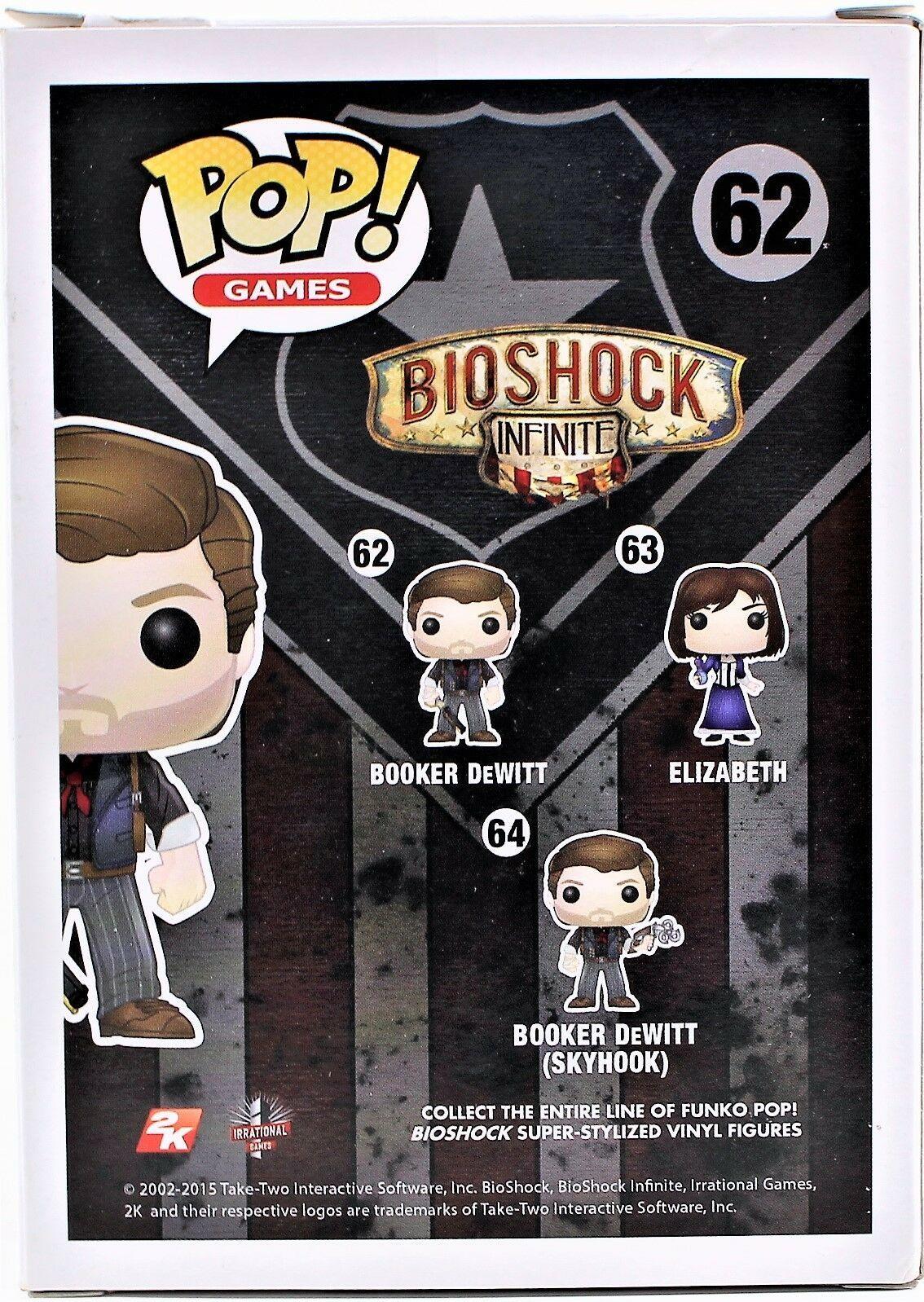 BioShock Infinite Booker DeWitt Pop! Vinyl Figure image 4