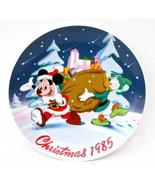 Limited Edition #3095 Disney 1985 Santa's Helpers collectors plate - $35.00