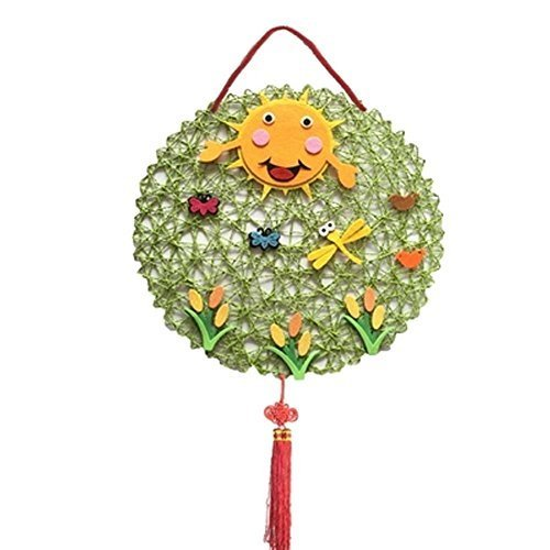DIY Hand Made Material Bags Nursery Kids Decoration Products, 38x38 cm